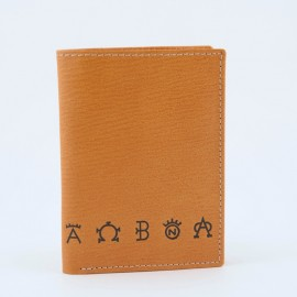 Wallets for men leather with anagrams