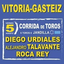 05/08 Vitoria (18:00) Toros
