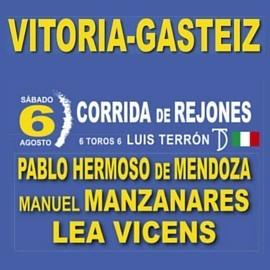 06/08 Vitoria (18:00) Rejones