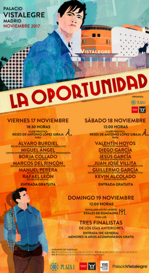 Poster of the contest 'The Opportunity'