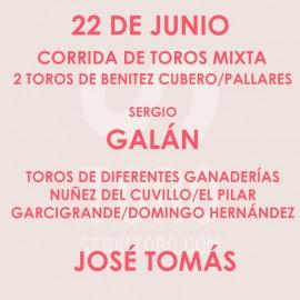 22/06 Corpus (19:00) Toros mixta