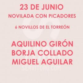 23/06 Corpus (19:00) Novillos