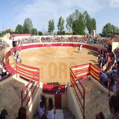 Santa Eulalia del Campo (Teruel), plaza de toros.