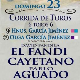 23/06 León (18:00) Toros