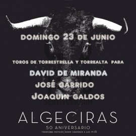 23/06 Algeciras (19:30) Toros