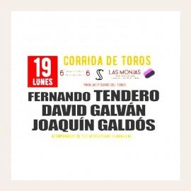 19/08 Ciudad Real (19:30) Toros