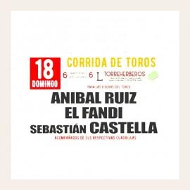 18/08 Ciudad Real (19:30) Toros