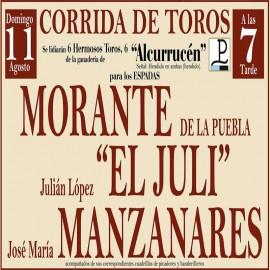 11/08 Pontevedra (19:00) Toros