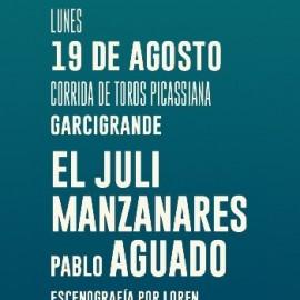 19/08 Málaga (19:30) Corrida Picassiana