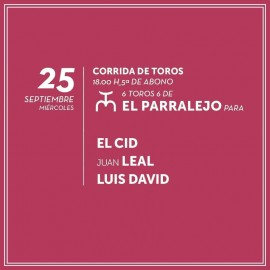 25/09 Logroño (18:00) Toros