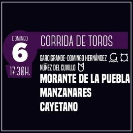 06/10 Zaragoza (18:00) Toros