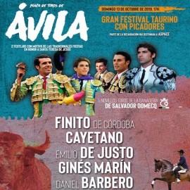 13/10 Avila (17:00) Festival mixto.