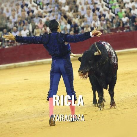 Bullfight ticket Ricla