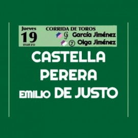 19/03 Castellón (17:00) Toros
