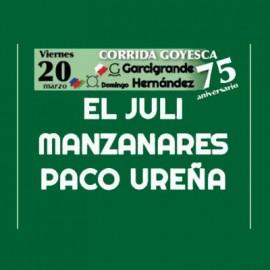 20/03 Castellón (17:00) Toros