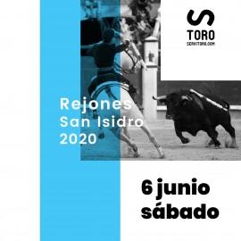 06/06 San Isidro (19:00) Rejones