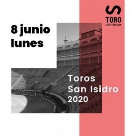 08/06 San Isidro (19:00) Toros