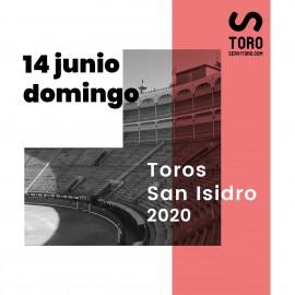 14/06 San Isidro (19:00) Toros