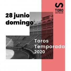 28/06 Madrid (19:00) Toros