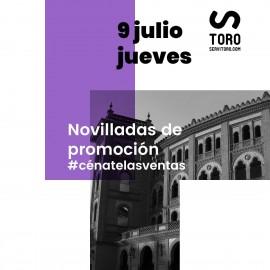 09/07 Madrid (21:00) Novillos