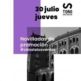 30/07 Madrid (21:00) Novillos
