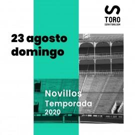 23/08 Madrid (19:00) Novillos