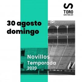 30/08 Madrid (19:00) Novillos