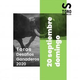20/09 Madrid (18:00) Toros
