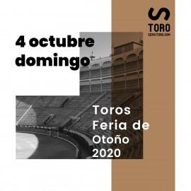 04/10 Madrid (18:00) Toros
