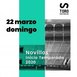 22/03 Madrid (18:00) Novillos