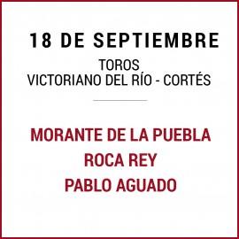 18/09 San Miguel (18:00) Toros