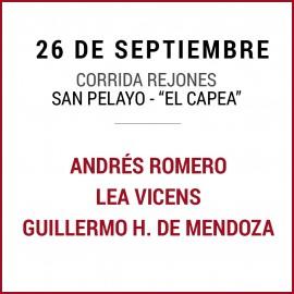 26/09 San Miguel (18:00) Rejones. FORMATO PDF-IMPRIMIR