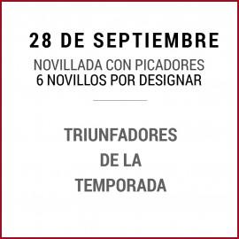 28/09 San Miguel (18:00) Novillos