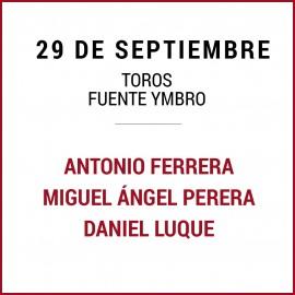 29/09 San Miguel (18:00) Toros