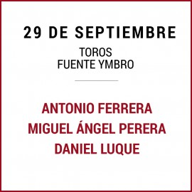 29/09 San Miguel (18:00) Toros. FORMATO PDF-IMPRIMIR