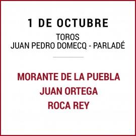 01/10 San Miguel (18:00) Toros. FORMATO PDF-IMPRIMIR