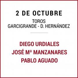 02/10 San Miguel (18:00) Toros. FORMATO PDF-IMPRIMIR