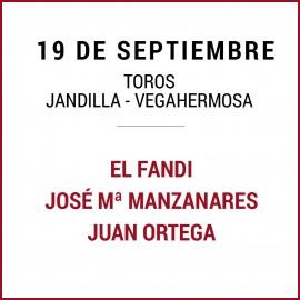 19/09 San Miguel (18:00) Toros. FORMATO PDF-IMPRIMIR