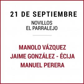 21/09 San Miguel (18:00) Novillos. FORMATO PDF-IMPRIMIR