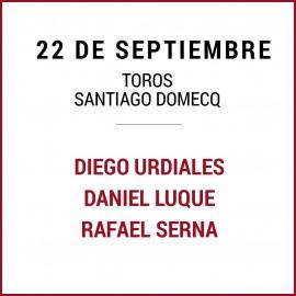 22/09 San Miguel (18:00) Toros.
