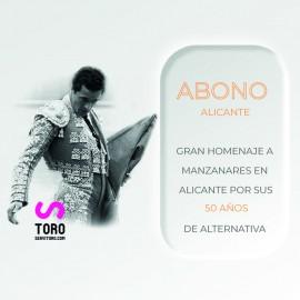 Abono Alicante 24-27 de junio