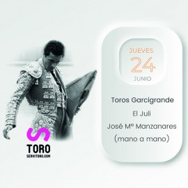 24/06 Alicante (19:00) Toros