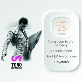 25/06 Alicante (19:00) Toros