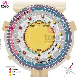 26/06 Madrid (20:00) Toros