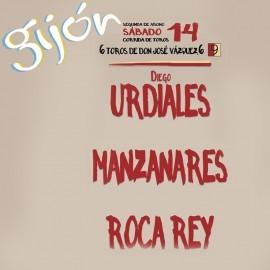 14/08 Gijon (18.30) Toros