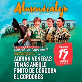 15/08 Almendralejo (20:30) Toros PDF-IMPRIMIR