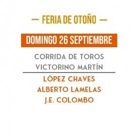 26/09 Madrid (18:00) Toros PDF- PRINT