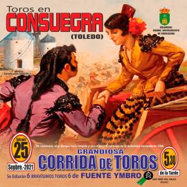 25/09 Consuegra (17:30) Toros PICK UP AT BULLRING.