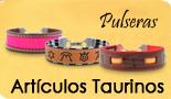 Pulseras Taurinas Tela Capote