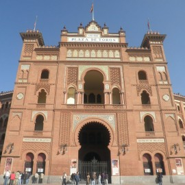 Las Ventas Bullring. Madrid